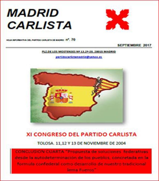 Boletín Carlista de Madrid
